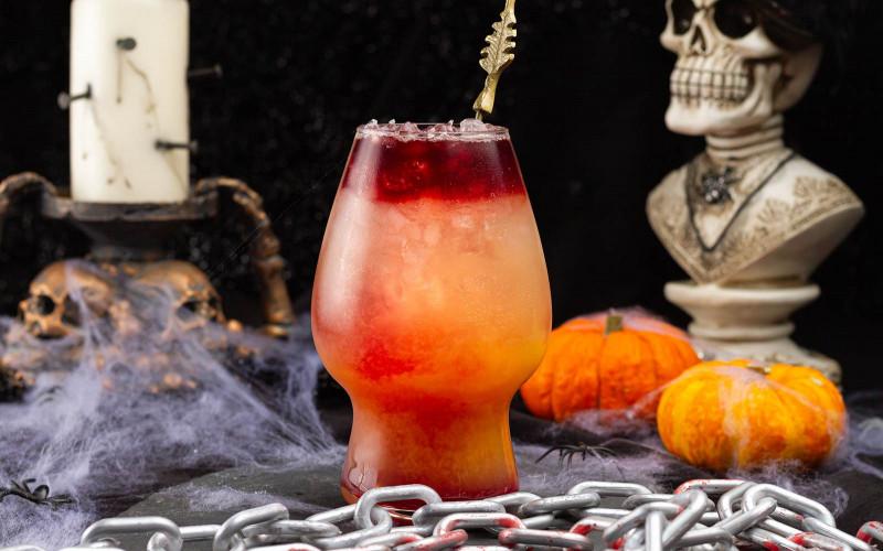 Blood Bath On The Beach - Halloween Hard Seltzer Cocktail