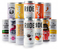Tropical Flavour Hard Seltzer Mixed Taster Pack