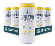 Bodega Bay - Elderflower, Lemon & Mint Hard Seltzer Multipack