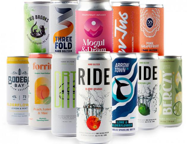 Citrus Flavour Hard Seltzer Mixed Taster Pack