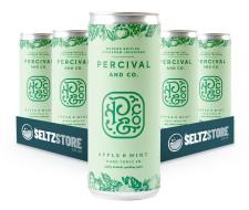 Percival & Co - Apple & Mint Hard Seltzer Tonic Multipack