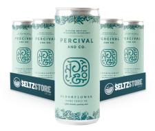 Percival & Co - Elderflower Hard Seltzer Tonic Multipack