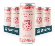 Percival & Co - Rose & Juniper Hard Seltzer Tonic Multipack