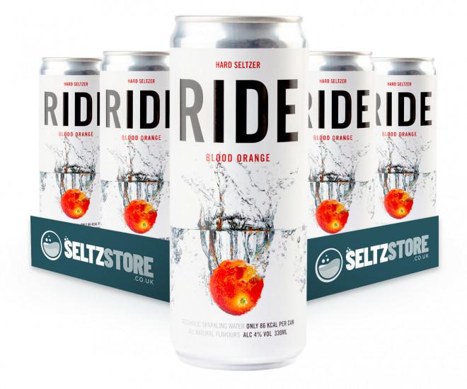 Ride - Blood Orange Hard Seltzer Multipack