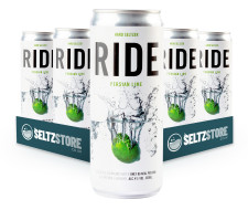 Ride - Persian Lime Hard Seltzer Multipack